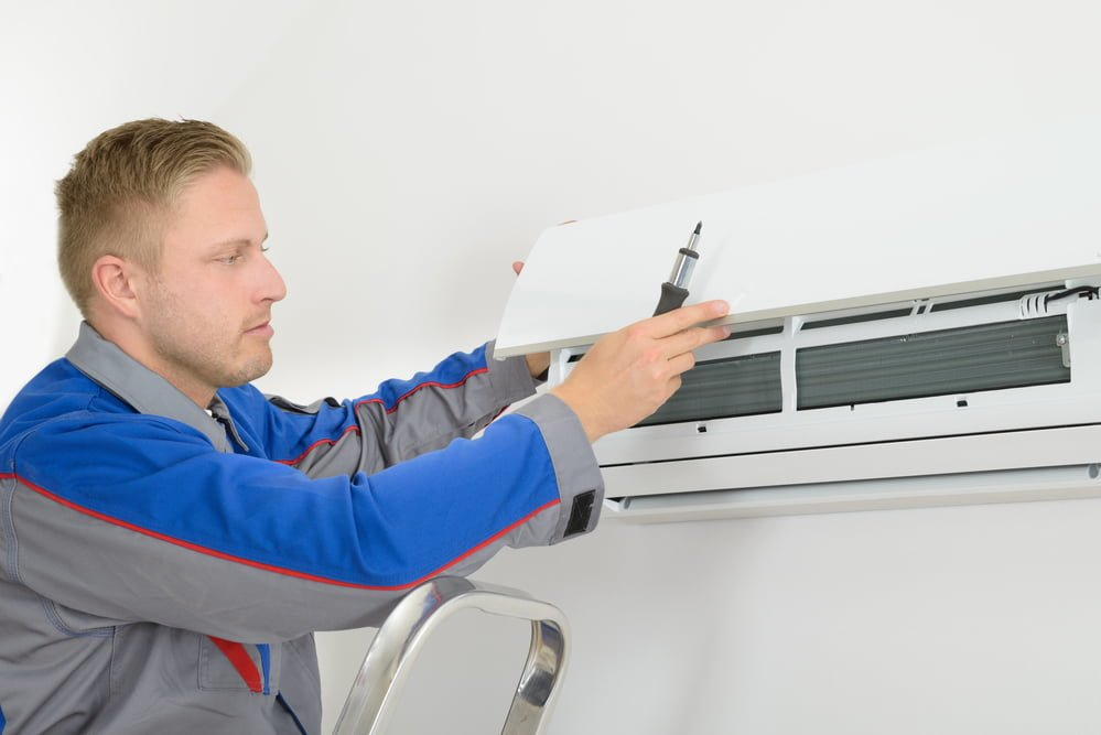 hvac professionals new equipment