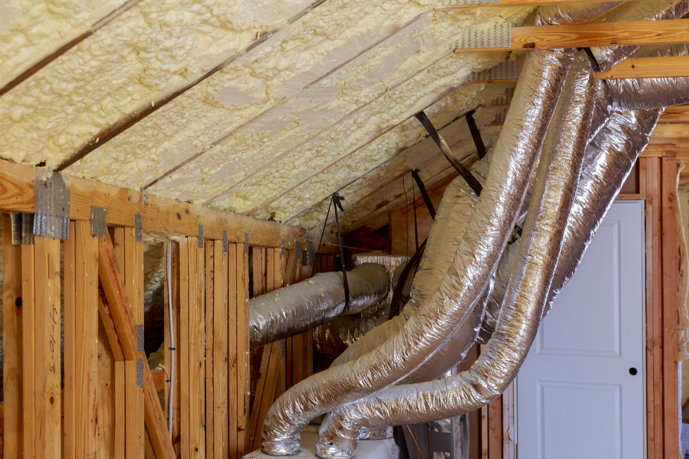 causes damaged HVAC ductwork